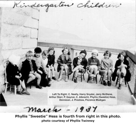 Alcatraz Kindergarten class 1934